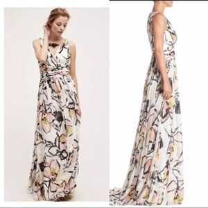 Anthropologie Siempre Maxi by Badgley Mischka